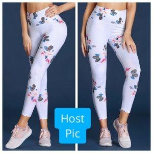 Floral Athletic Yoga Leggings 🙏🏻❤️